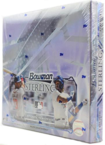 2019 Bowman Sterling Baseball Hobby Box