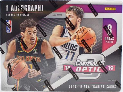2018/19 Panini Contenders Optic Basketball Hobby Box
