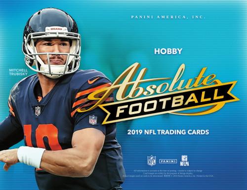 2019 Panini Absolute Football Hobby Box