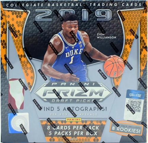 2019/20 Panini Prizm Collegiate Draft Picks Basketball Hobby Box