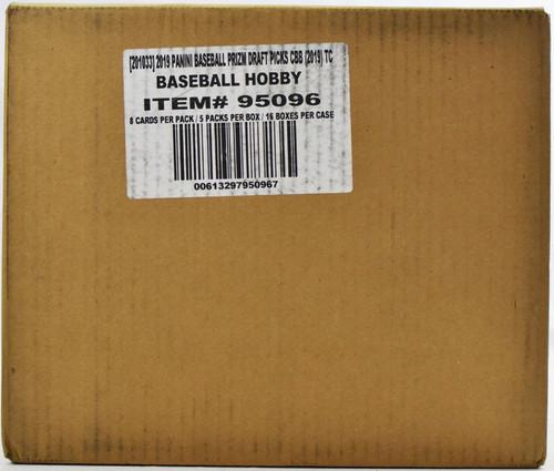 2019 Panini Prizm Collegiate Draft Picks Baseball Hobby 16 Box Case