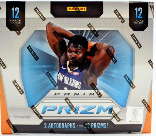 2019/20 Panini Prizm Basketball Hobby Jumbo Box