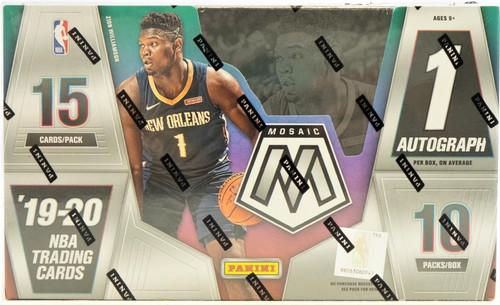 2019/20 Panini Mosaic Basketball Hobby Box