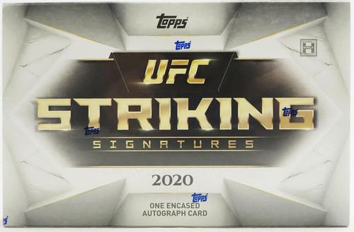 2020 Topps UFC Striking Signatures Hobby Box