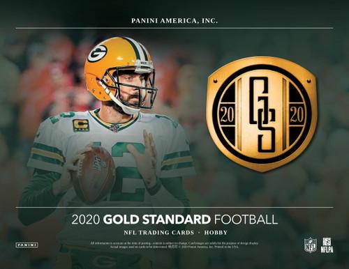 2020 Panini Gold Standard Football Hobby 12 Box Case