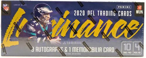 2020 Panini Luminance Football Hobby Box