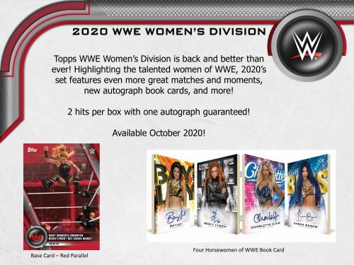 2020 Topps WWE Women's Division Wrestling Hobby Box