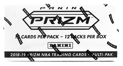 2018/19 Panini Prizm Basketball Cello/Multi Pack Box