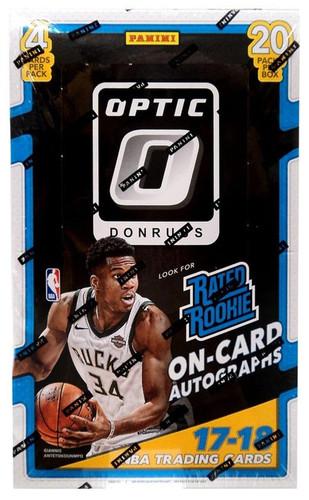 2017/18 Panini Donruss Optic Basketball Retail Box