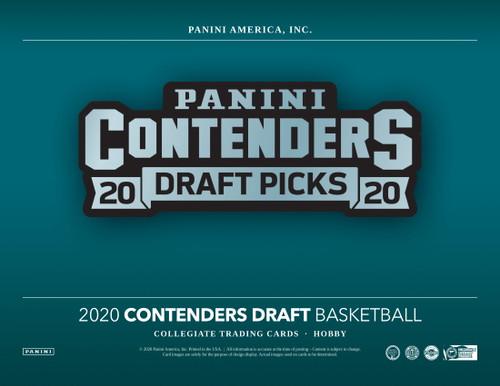 2020/21 Panini Contenders Draft Picks Basketball Hobby 12 Box Case