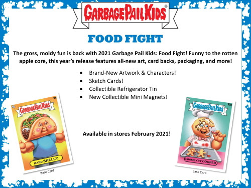 2021 Topps Garbage Pail Kids Food Fight! Collector Edition Box