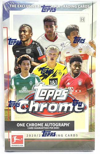 2020/21 Topps Chrome Bundesliga Soccer Hobby Box
