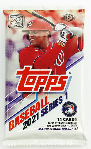 2021 Topps Series 1 Baseball Hobby Pack