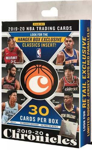 2019/20 Panini Chronicles Basketball Hanger Pack Box
