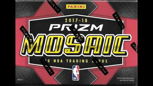 2017/18 Panini Prizm Mosaic Basketball Hobby Box