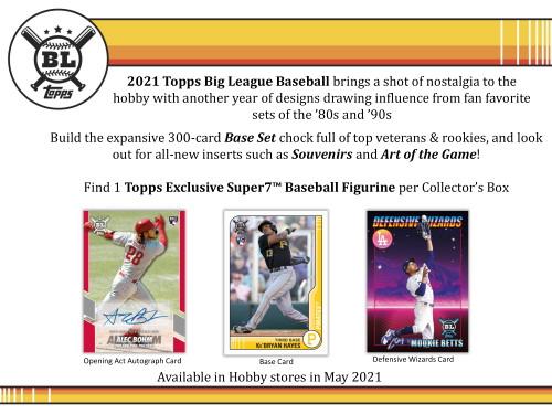 2021 Topps Big League Baseball Collector Hobby Box