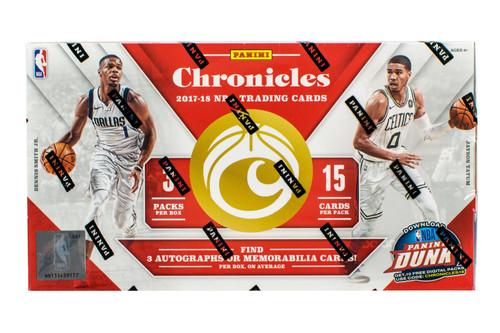 2017/18 Panini Chronicles Basketball Hobby Box