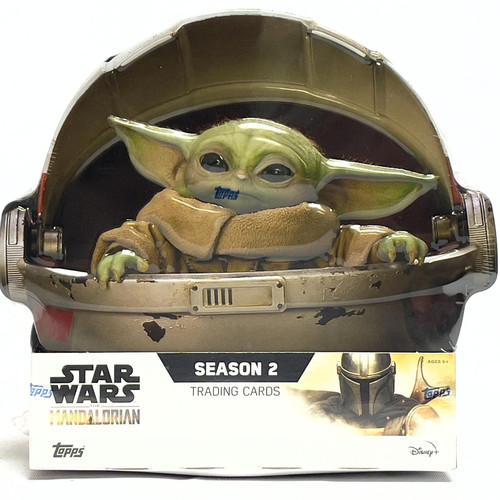 2021 Topps Star Wars The Mandalorian Season 2 Hobby Box