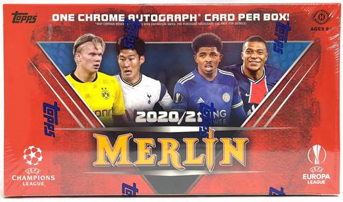 2020-21 Topps Merlin Chrome Soccer Hobby Box