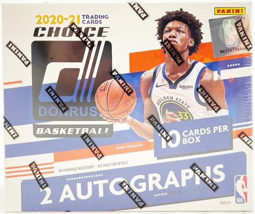 2020/21 Panini Donruss Choice Basketball Hobby Box