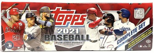 2021 Topps Complete Baseball Factory Set Hobby Edition