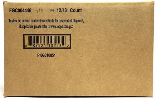 2021 Topps Chrome MLS Major League Soccer Hobby 12 Box Case