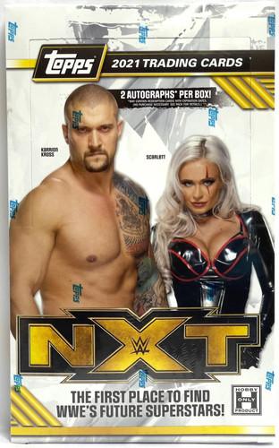 2021 Topps WWE NXT Wrestling Hobby Box