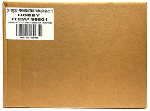 2021 Panini Legacy Football Hobby 24 Box Case