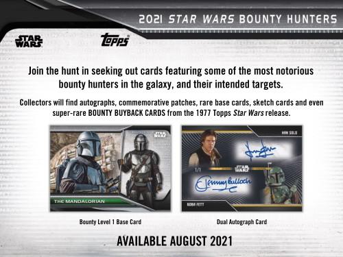 2021 Topps Star Wars Bounty Hunters Hobby Box