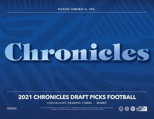 2021 Panini Chronicles Draft Picks Football Hobby Box