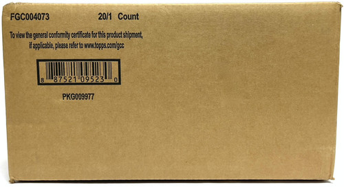 2021 Topps Archives Signature Series Retired Player Edition Baseball Hobby 20 Box Case