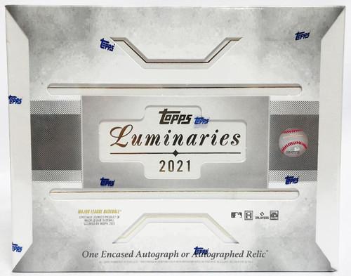 2021 Topps Luminaries Baseball Hobby Box