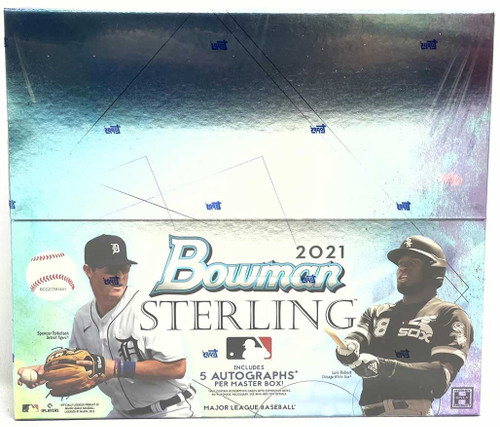 2021 Bowman Sterling Baseball Hobby Box