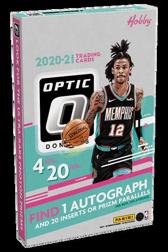 2020/21 Panini Donruss Optic Basketball Hobby Box