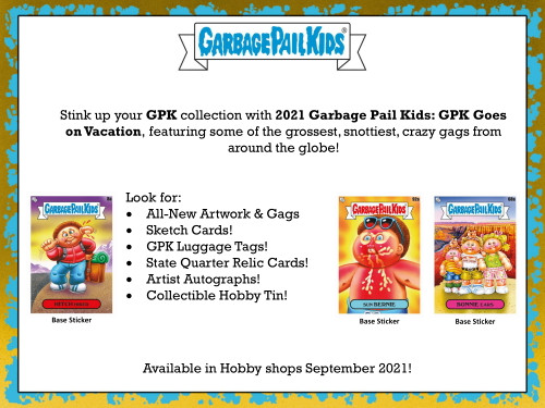 2021 Topps Garbage Pail Kids: GPK Goes On Vacation Collector's Edition Box