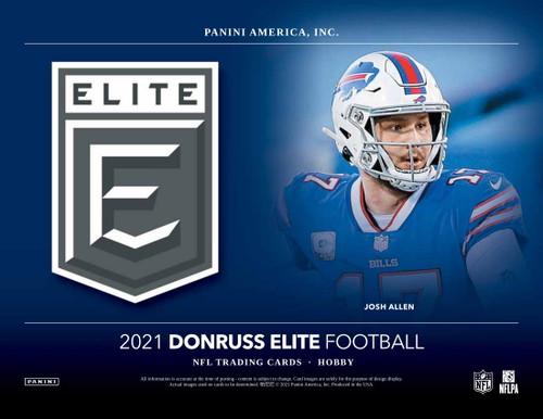 2021 Panini Donruss Elite Football Hobby 12 Box Case