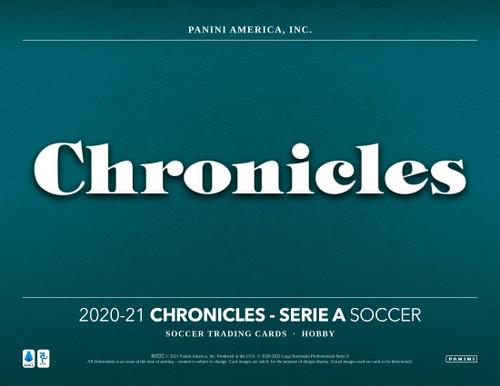 2020/21 Panini Chronicles Soccer Hobby 12 Box Case