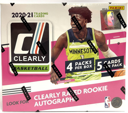 2020-21 Panini Clearly Donruss Basketball Hobby Box