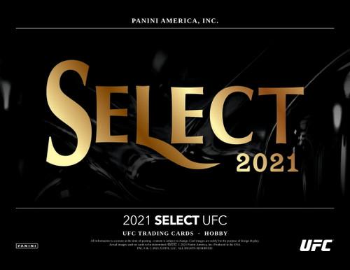 2021 Panini Select UFC Hobby Box