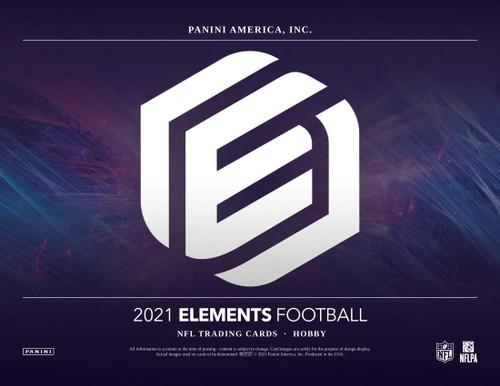 2021 Panini Elements Football Hobby 12 Box Case