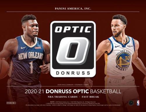2020/21 Panini Donruss Optic Basketball Fast Break Box