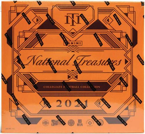 2021 Panini National Treasures Collegiate Football Hobby Box