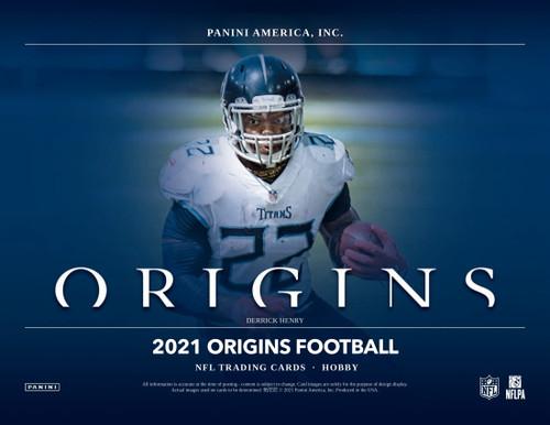 2021 Panini Origins Football Hobby 16 Box Case