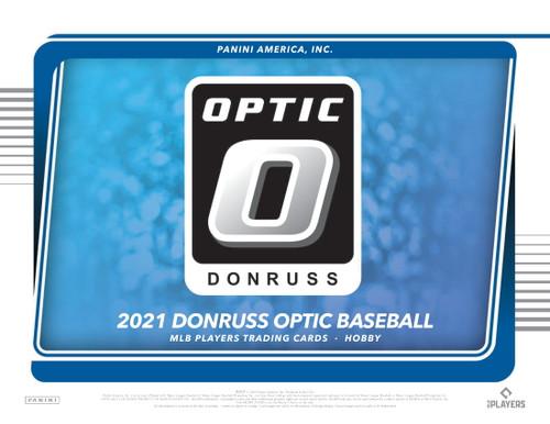 2021 Panini Donruss Optic Baseball Hobby 4 Card Pack