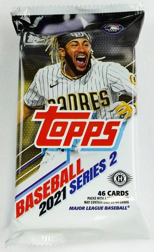 2021 Topps Series 2 Baseball Hobby Jumbo 46 Card Pack