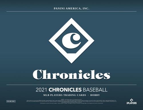 2021 Panini Chronicles Baseball Hobby Box