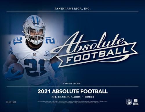 2021 Panini Absolute Football Hobby Box