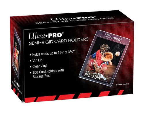 Ultra Pro Semi-Rigid 1/2 Lip Sleeves 200ct