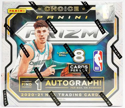 2020/21 Panini Prizm Choice Basketball Hobby Box