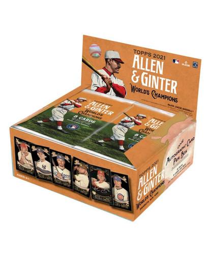 2021 Topps Allen & Ginter X Baseball Box